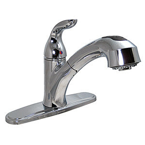 Bone Single Handle W Pull Out Sprayer 8 Kitchen Faucet Route 66 Rvs Parts Store