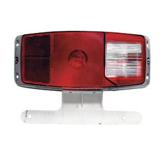 #340 Tail Light w/ License Bracket