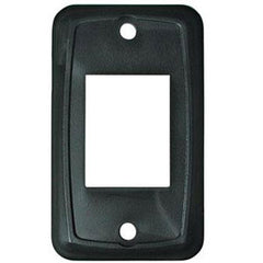 1-Piece Black Switch Plate Cover