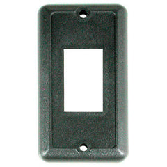 1/Cd  Black Wall Plate for Waterproof Switches