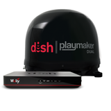 DISH Playmaker Dual Satellite Antenna Bundle With Wally