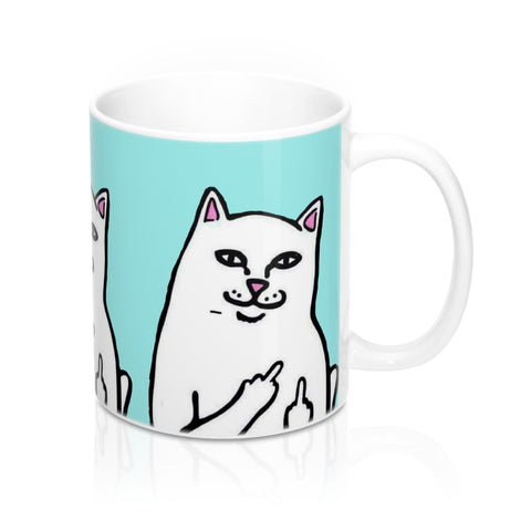 Bad Kitty Mug 11oz - Designs By Erika