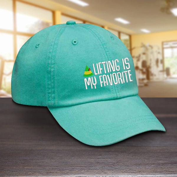 Lifting Is My Favorite Hat