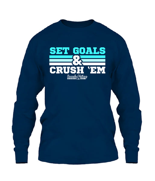 Set Goals & Crush Them