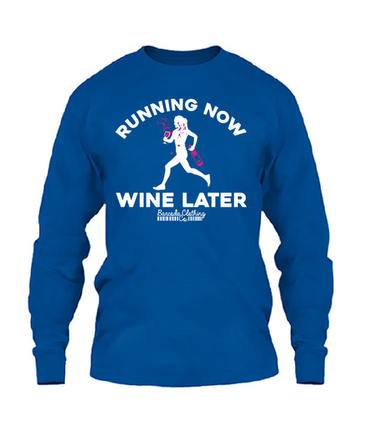 Running Now Wine Later