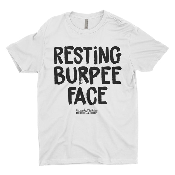 Resting Burpee Face Blacked Out