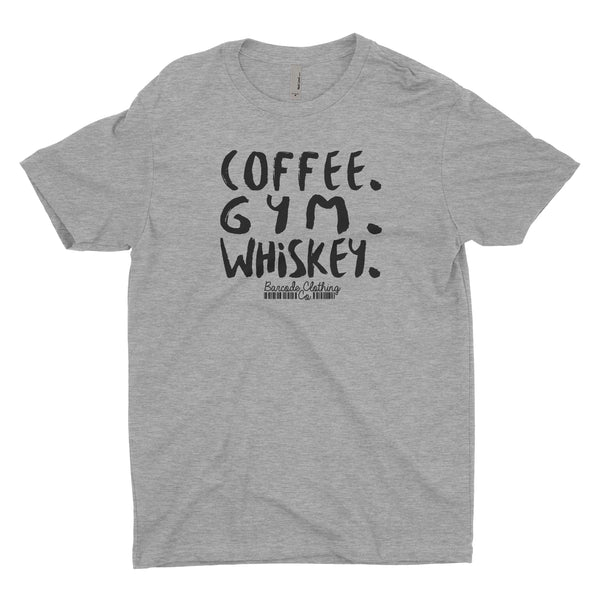 Coffee Gym Whiskey Blacked Out