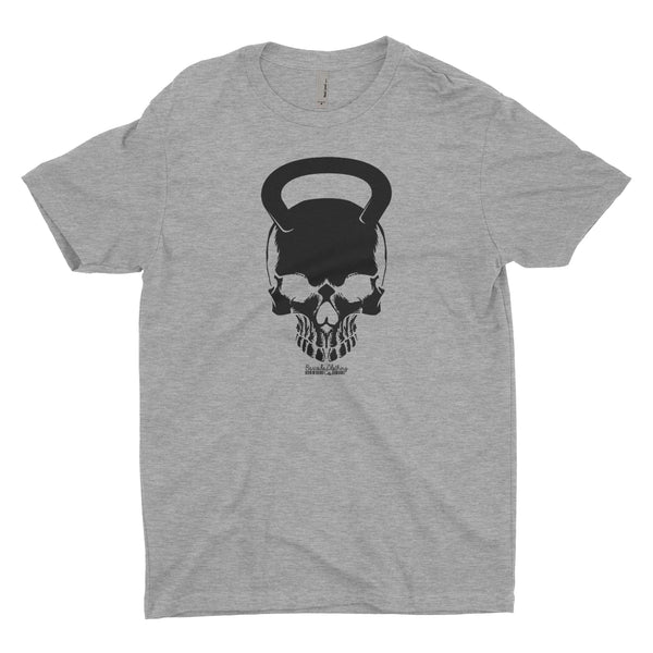 Kettlebell Skull Blacked Out