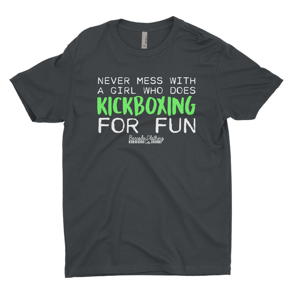 Never Mess With A Girl Kickboxing