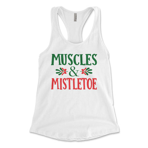 Muscles & Mistletoe White Collection