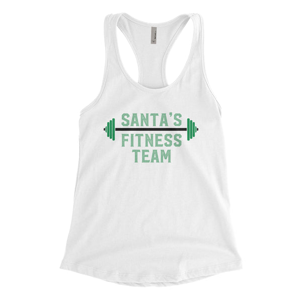Santa's Fitness Team White Collection