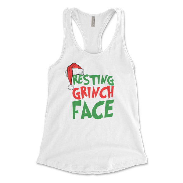 Resting Grinch Face White Collection