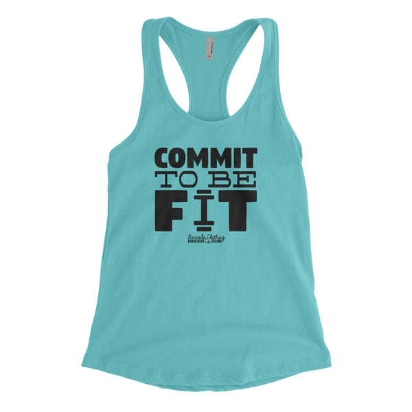 Commit To Be Fit Blacked Out