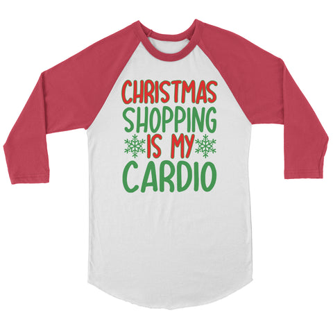 Christmas Is My Cardio Raglan