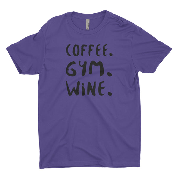 Coffee Gym Wine Blacked Out