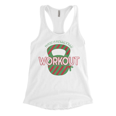 Holly Jolly Workout White Collection