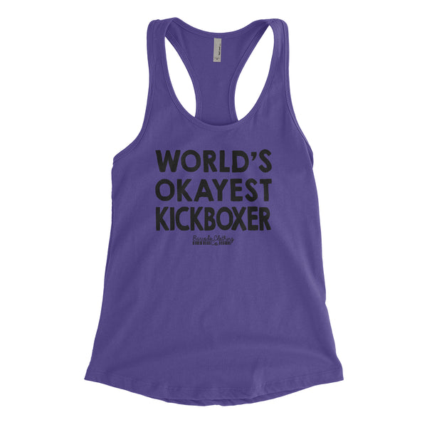 World's Okayest Kickboxer Blacked Out