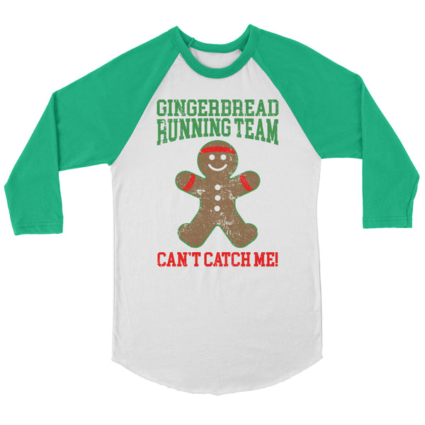 Gingerbread Running Team Raglan