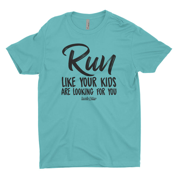 Run Like Your Kids Are Looking Blacked Out