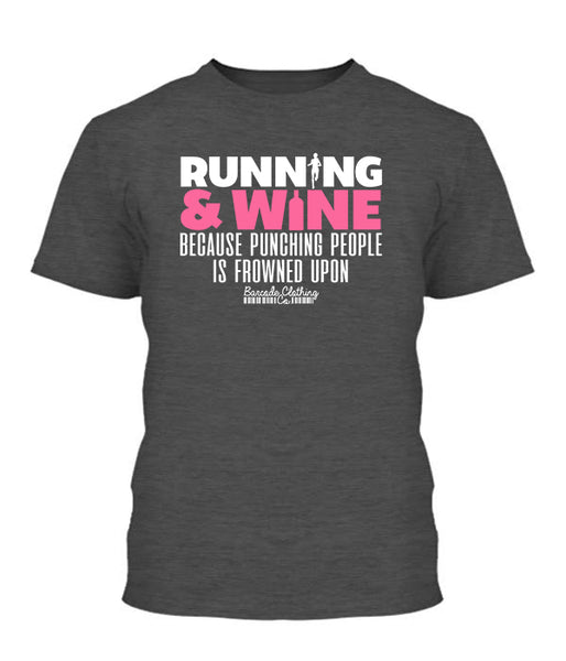 Running and Wine Because Punching