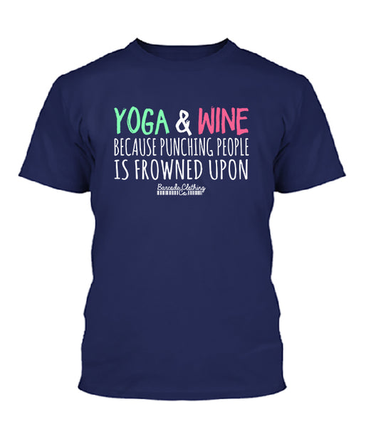 Yoga & Wine Because