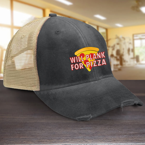 Will Plank For Pizza Hat