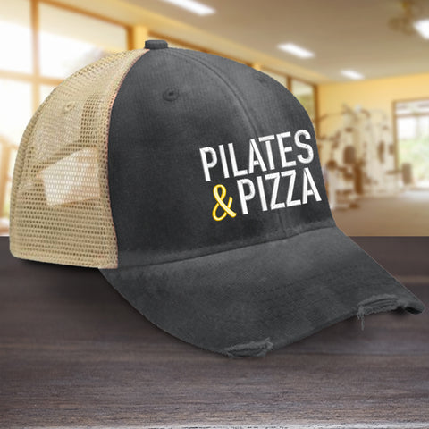 Pilates and Pizza Hat