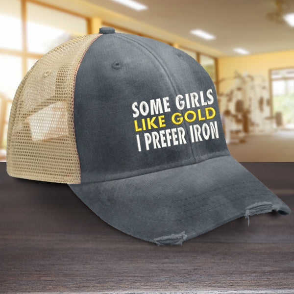 Some Girls Like Gold Hat