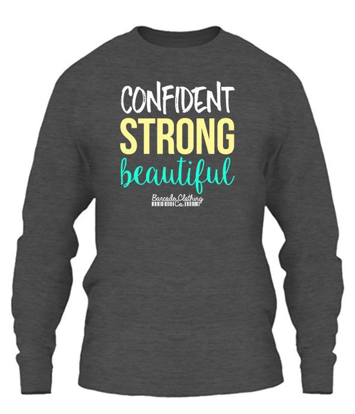 Confident Strong Beautiful