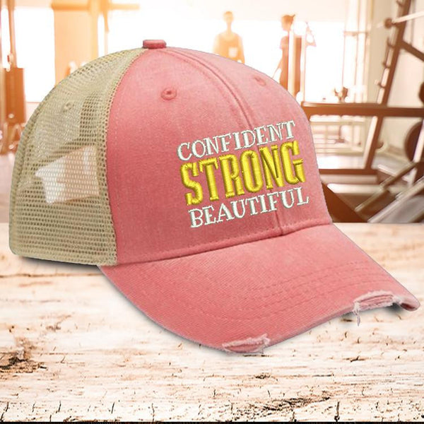 Confident Strong Beautiful Trucker Hat