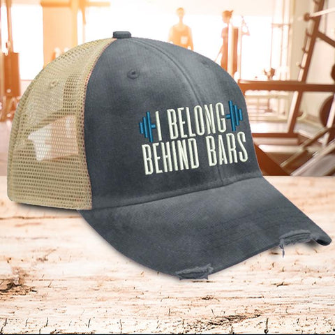 Hat - I Belong Behind Bars Hat