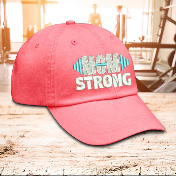 Hat - Mom Strong Hat