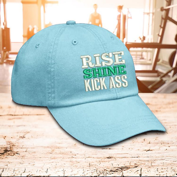 Hat - Rise Shine Kick Ass Hat
