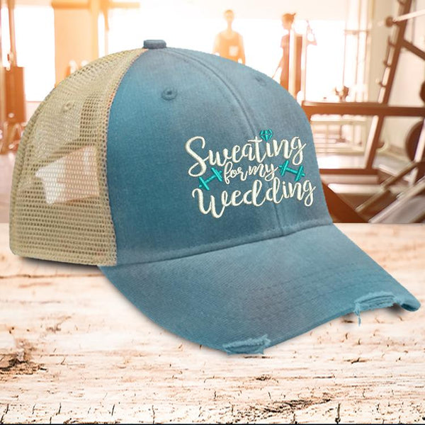 Hat - Sweating For My Wedding Hat