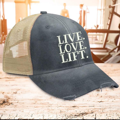 Live Love Lift Trucker Hat
