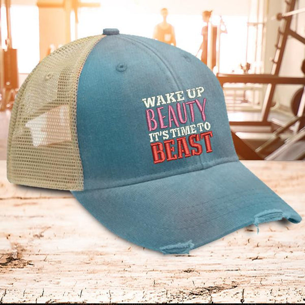 Wake Up Beauty Trucker Hat
