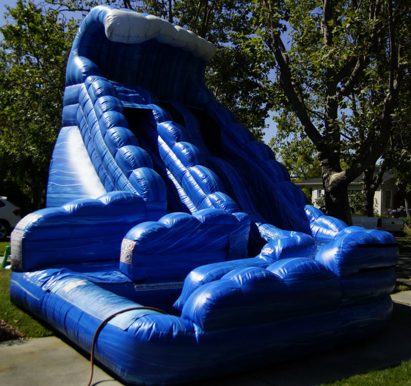 Monster Wave Dual Lane Water Slide
