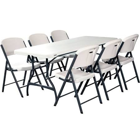 1 Table and 6 Chairs Combination