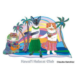 Hawaii Hula Cat Club