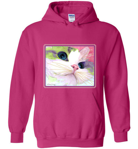 Ali's Eyes Hoodie by Claudia Sanchez