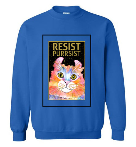 Simba RESIST-PURRSIST Sweatshirt by Claudia Sanchez