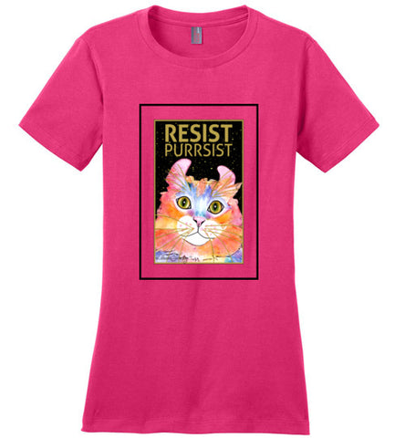Simba RESIST-PURRSIST Short Sleeved Ladies T-Shirt