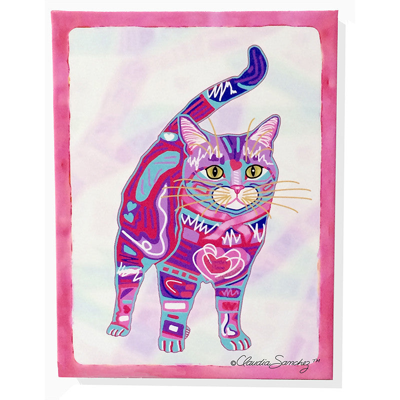Supurr Purrsie Giclee on Canvas, Signed Limited Edition - Unframed