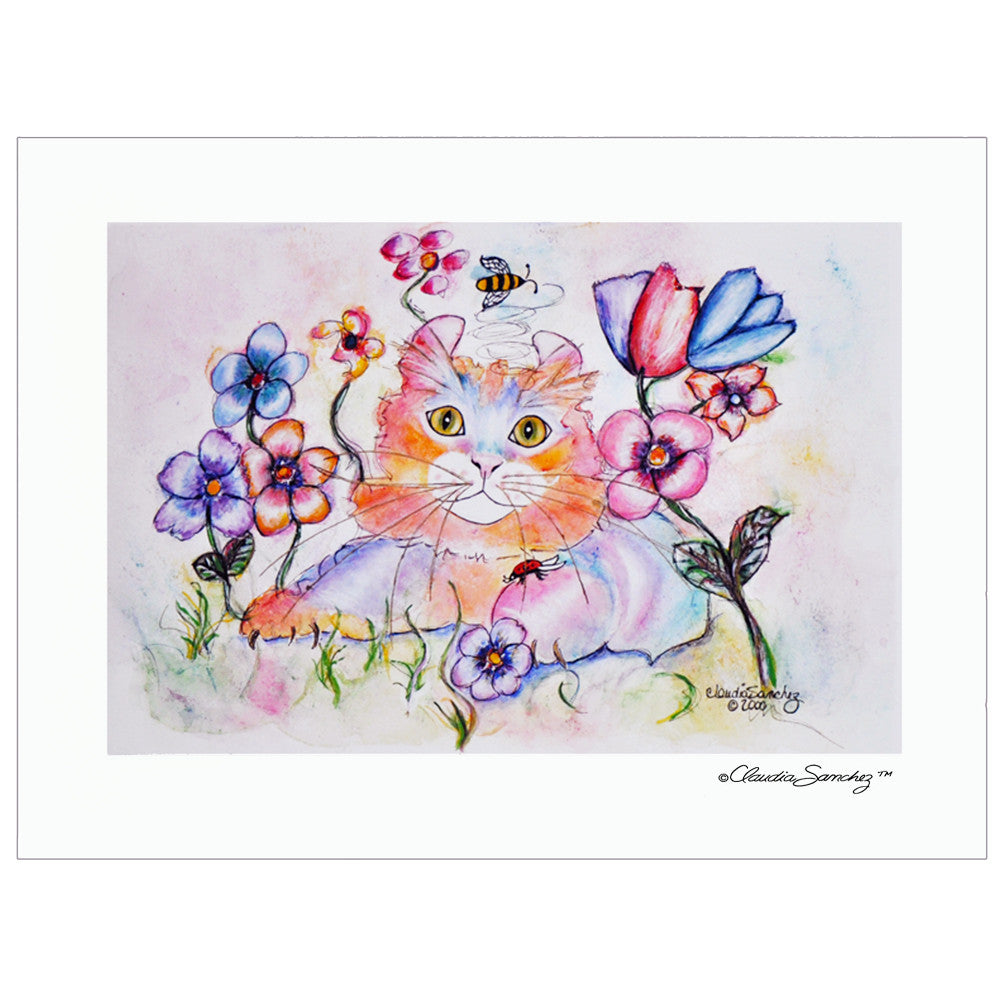 Simba Amongst Friends Giclee on Watercolor Paper, Signed Limited Edition - Unframed