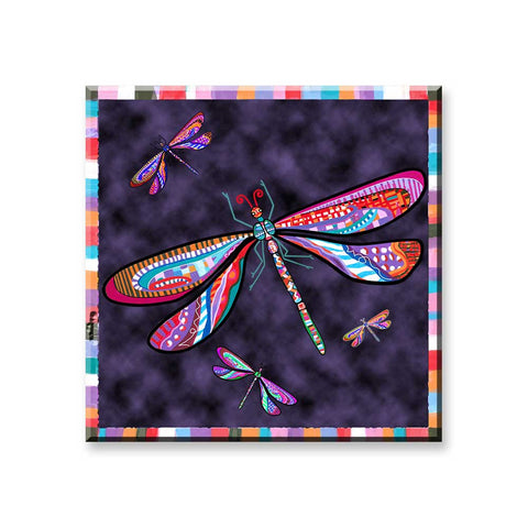 Dragonfly Magnet by Claudia Sanchez