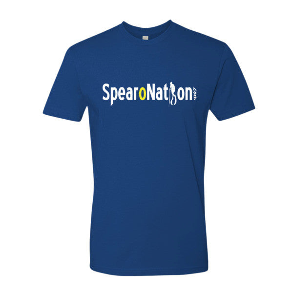 SPEARONATION AUTHENTIC T-SHIRT (BLK/BLU)