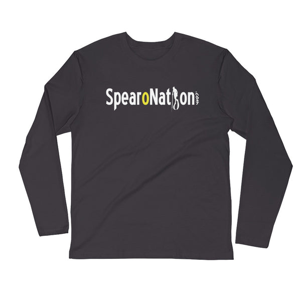 SPEARONATION LONG SLEEVE (BLK/HVYMTL)