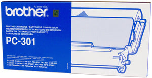 Brother LC Ink Cartridge, Black, 250 pages (PC-301)