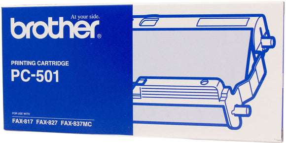 Brother LC Ink Cartridge, Black, 150 pages (PC-501)