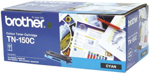 Brother TN Toner Cartridge, Cyan, 1,500 pages (TN-150C)